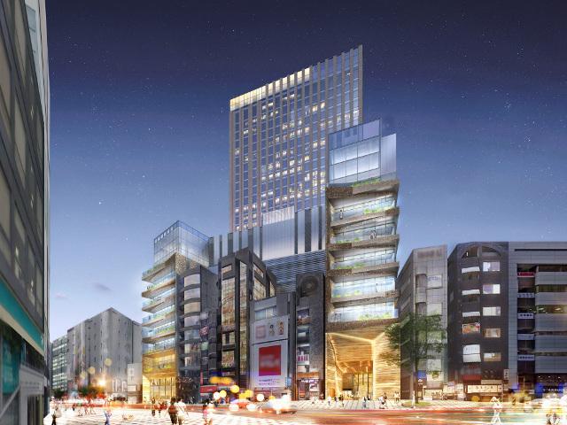 ドンキホーテ渋谷区道玄坂二丁目開発計画仮称_イメージ7_20180813