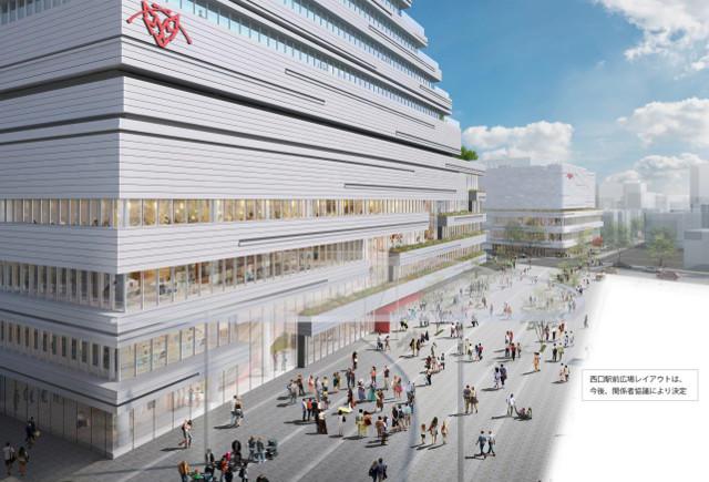 JR宮交ツインビル_アミュプラザ宮崎_駅前用地広島用地外観イメージ