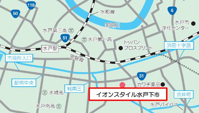 イオンスタイル水戸下市_地図_20181011