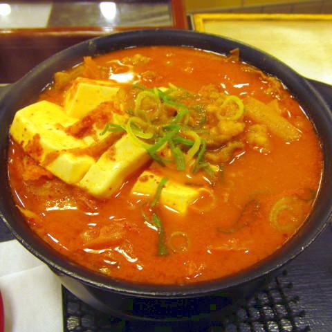 松屋豆腐キムチチゲ鍋膳2018大盛賞味サムネイル480調整後