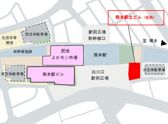 熊本駅北ビル_仮称_地図_切り抜き_20181223