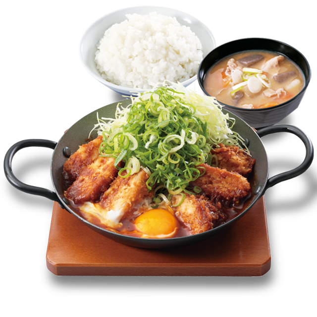 かつや鶏つくね味噌カツ鍋定食2019商品画像20190104