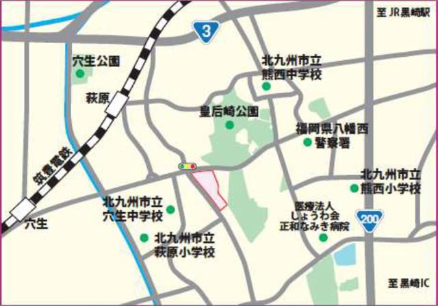 ゆめマート青山仮称地図20190118