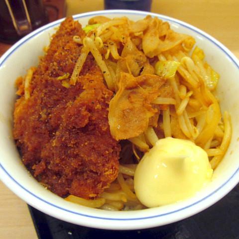 かつやスタミナ炒めとチキンカツ丼2019大盛賞味サムネイル480調整後