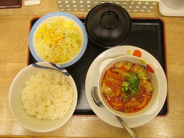 matsuya_gorogoro_chicken_with_chili_sauce_teishoku_20190319_029