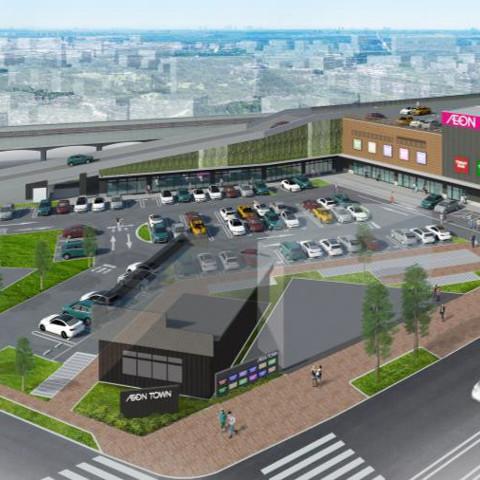 イオンタウン稲城長沼テナント12店で2019年冬開店予定サムネイル