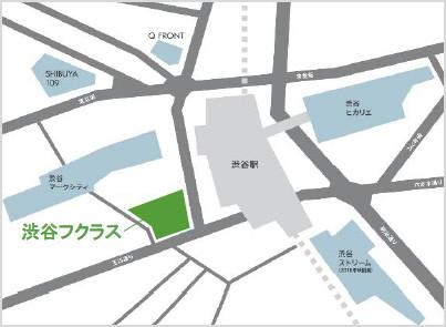 渋谷フクラス_東急プラザ渋谷_地図_20190410