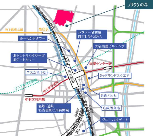 イオンモール_ノリタケの森プロジェクト_仮称_地図_640_20190409
