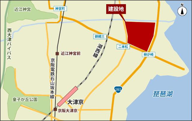 ブランチ大津京_地図_20190428
