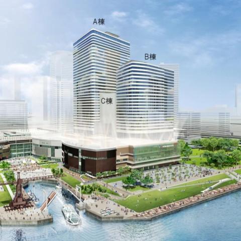 豊洲ベイサイドクロス商業施設20200401オープン計画サムネイル