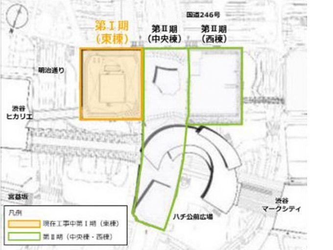 渋谷スクランブルスクエア地図_1205LB_20190704