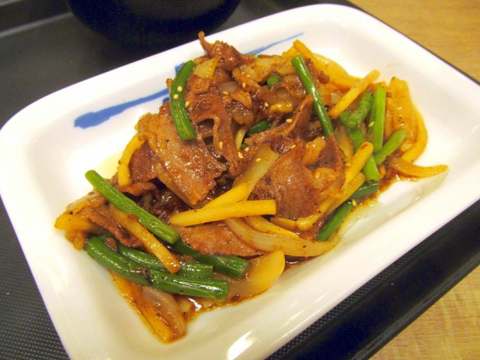 松屋牛肉と筍のオイスター炒め定食2019大盛賞味アイキャッチ1280調整後