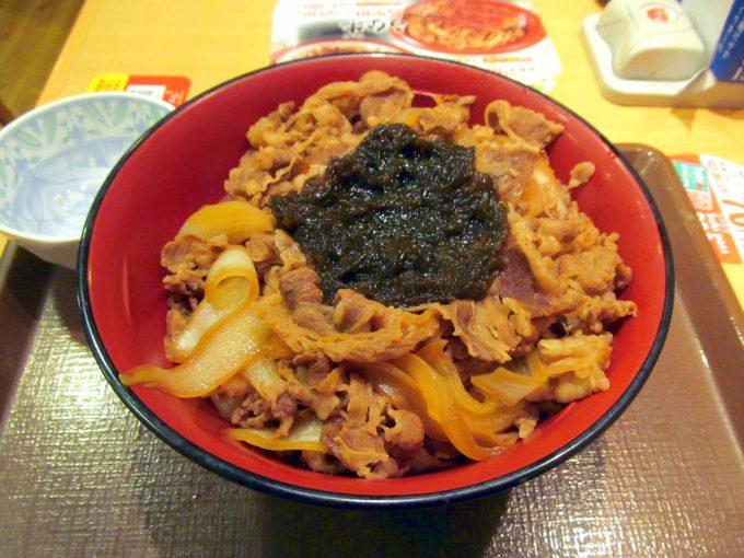 すき家沖縄もずく牛丼2019メガ賞味アイキャッチ1280調整後