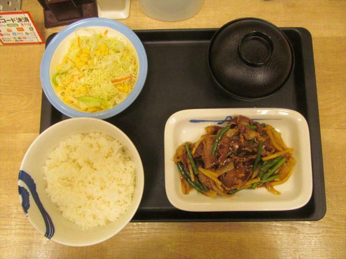 matsuya_beef_takenoko_oyster_itame_teishoku_20190723_063