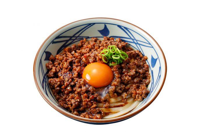 丸亀製麺_うま辛肉々釜玉_商品画像_1205_20190930