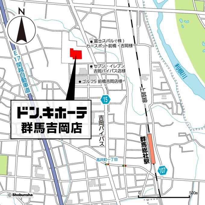 ドンキホーテ群馬吉岡店_地図_1205_20200109