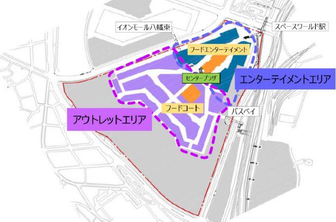 ジアウトレット八幡東田_ゾーニング図_1205_20200220