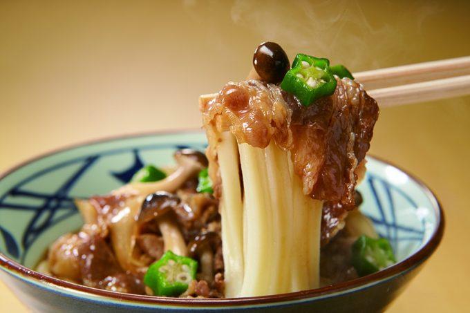 丸亀製麺_牛肉盛りうどん_完成_1205_20200302
