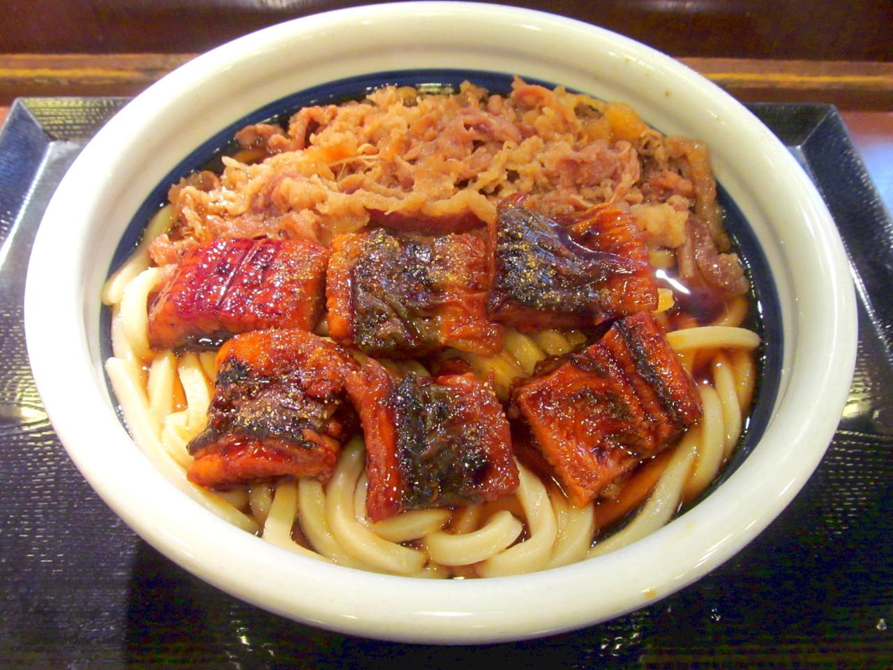 丸亀製麺_牛とうなぎのぶっかけうどん2020得賞味アイキャッチ1280調整後
