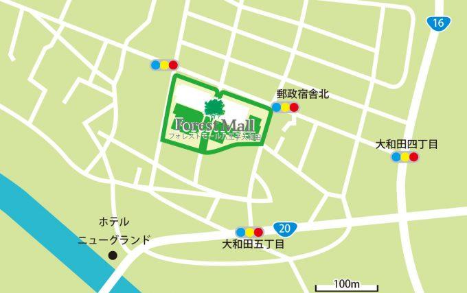 フォレストモール八王子大和田_近隣地図_1205_20201026