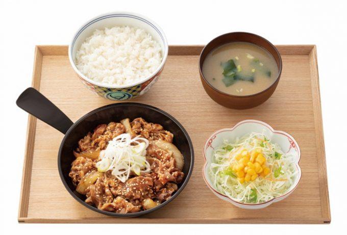 吉野家_牛焼肉定食_商品画像_1205_20210227