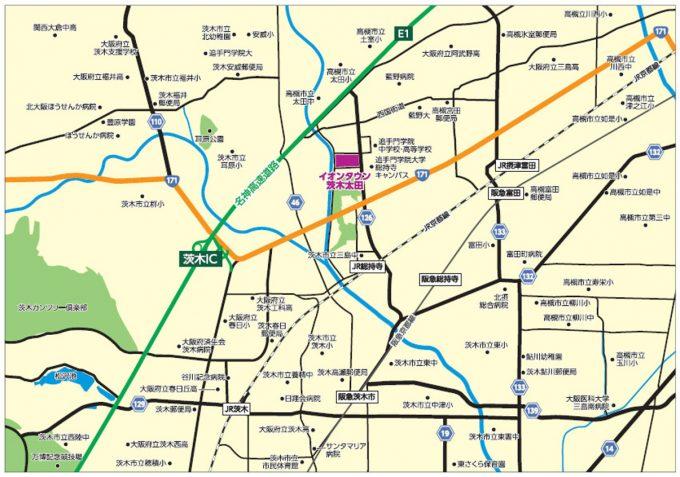 イオンタウン茨木太田_広域地図_1205_20210314