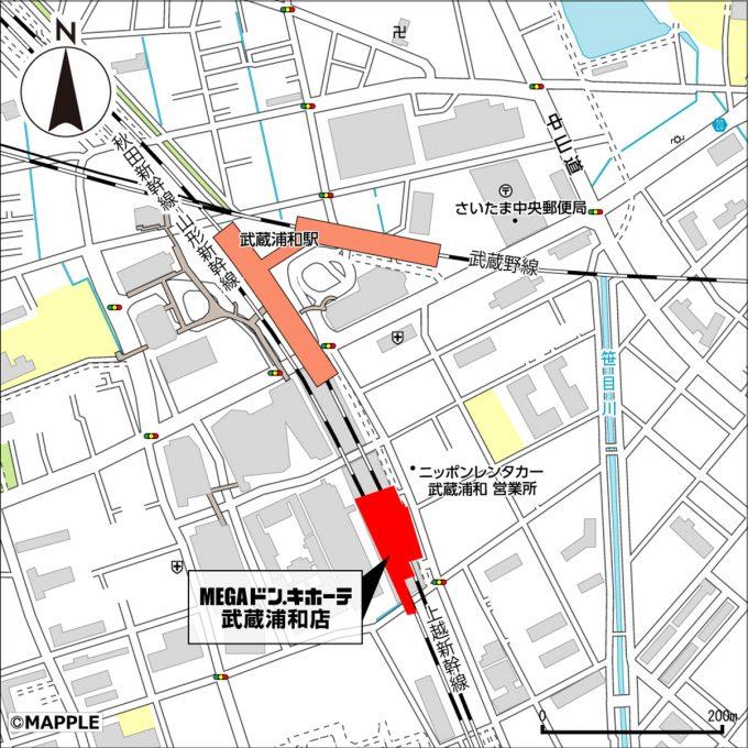 MEGAドンキホーテ武蔵浦和店_地図_1205_20210311