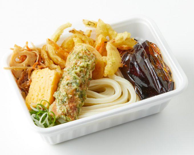 丸亀製麺_丸亀うどん弁当_2種の天ぷら_1205_20210406