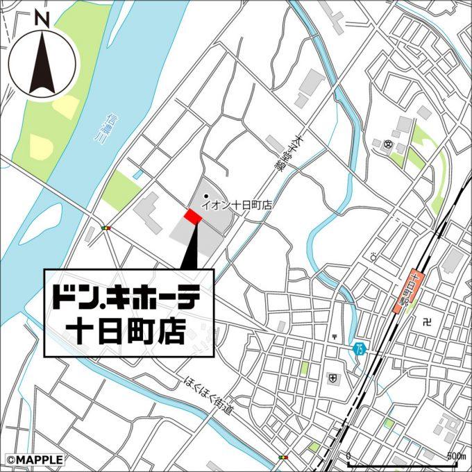 ドンキホーテ十日町店_地図_1205_20210410