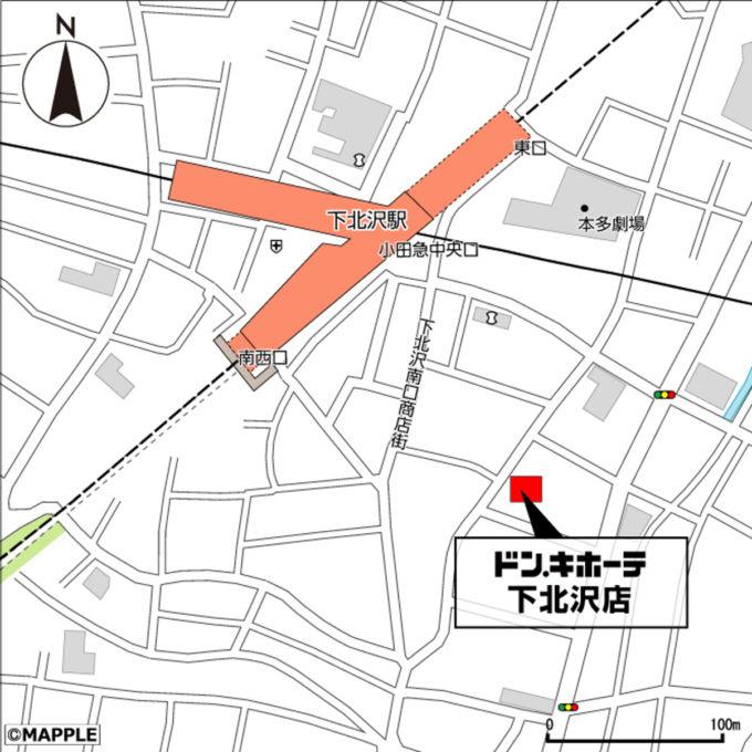 ドンキホーテ下北沢店_地図_1205_20210415