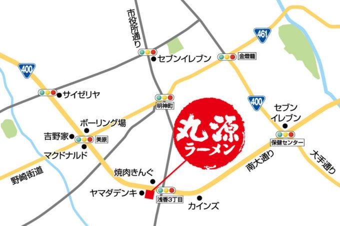 丸源ラーメン大田原店_地図_1205_20210523