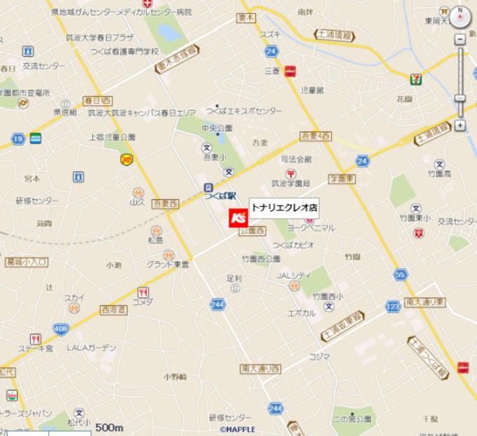 ケーズデンキトナリエクレオ店_地図_1205_20210711