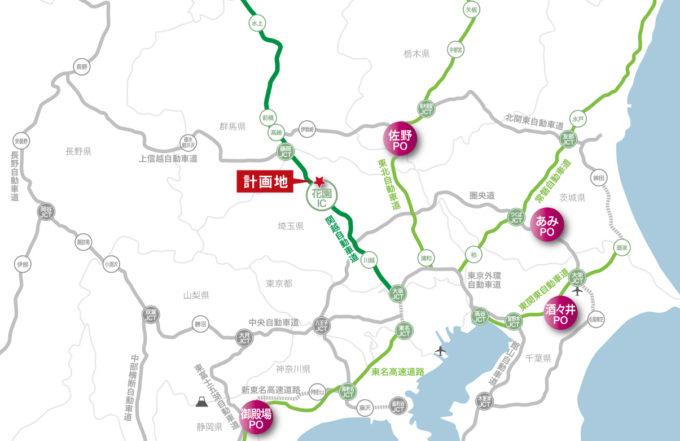 関東近郊のプレミアムアウトレット地図_1205_20210727
