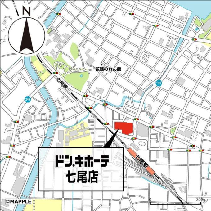 ドンキホーテ七尾店_地図_1205_20210712