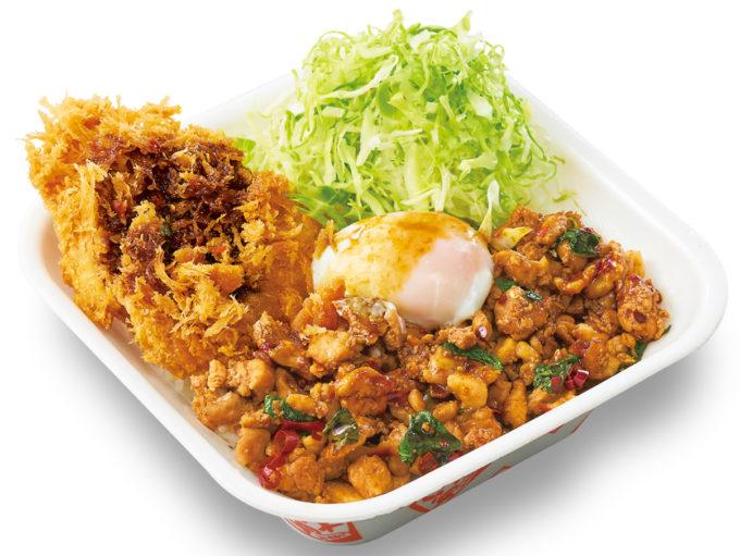 かつや_鶏ガパオチキンカツ丼弁当_商品画像_1205_20210707