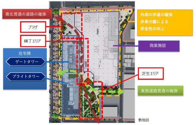 亀戸プロジェクト_建物配置図_1205_20210818