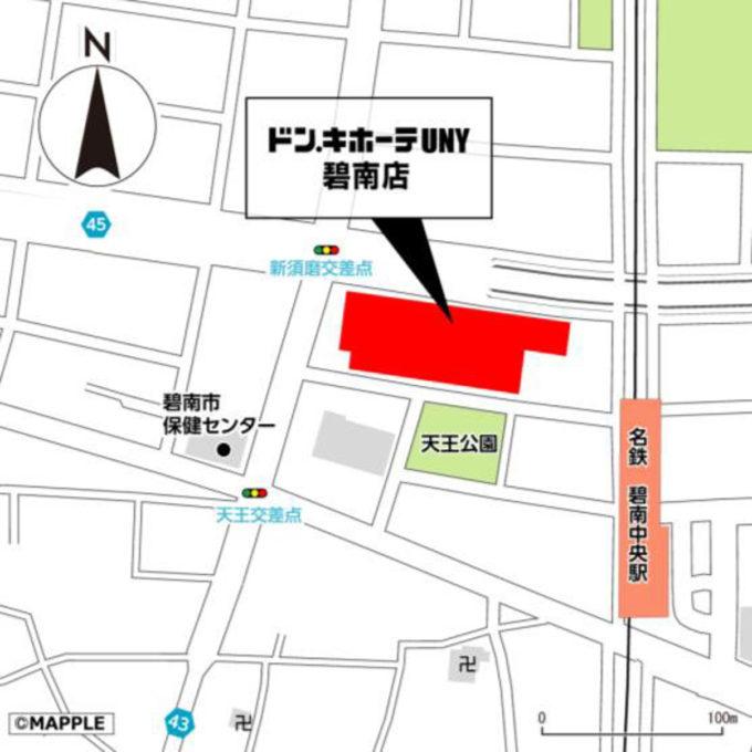 ドンキホーテUNY碧南店_地図_1205_20210826