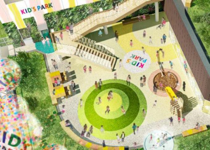 亀戸六丁目計画_商業施設完成イメージ2_1205_20210818