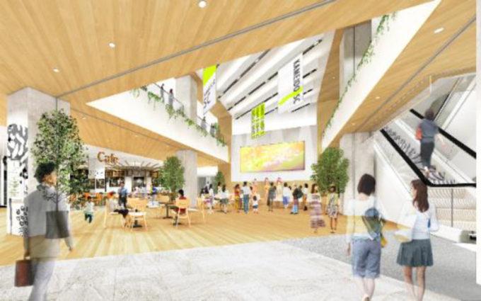 亀戸六丁目計画_商業施設完成イメージ1_1205_20210818